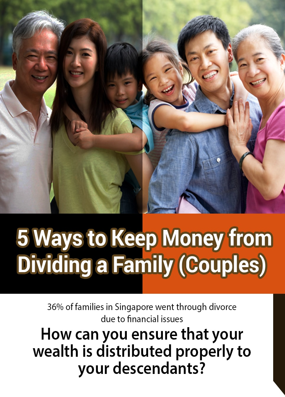 5 Ways to Keep Money from Dividing a Family